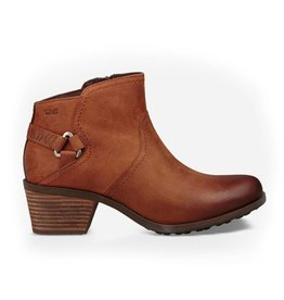 TEVA Womens Foxy WP Leather Boot, Carmel