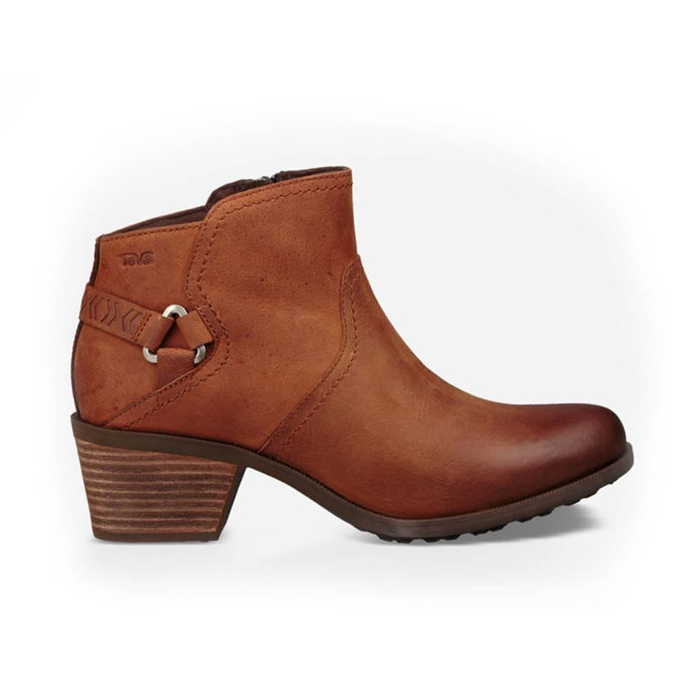 TEVA Womens Foxy WP Leather Boot, Carmel