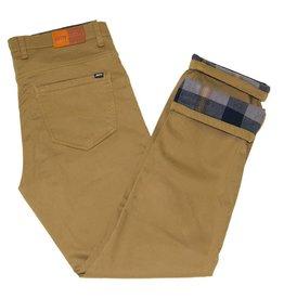 Jetty Men's Flannel Lined Pants, Khaki
