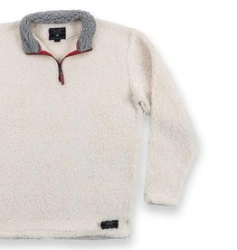 Appalachian Pile Pullover, White