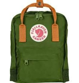 Kanken Mini Backpack,  Leaf Green Burr