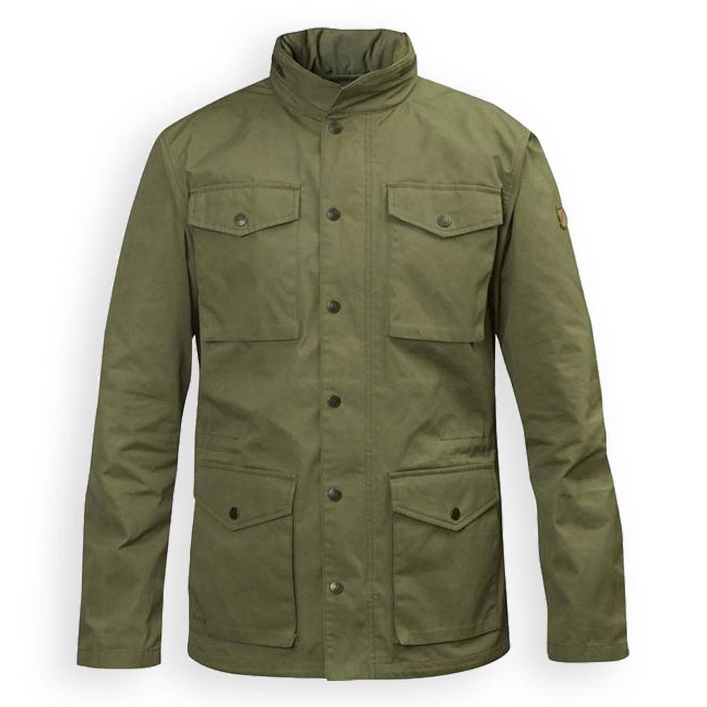 FjallRaven Men's Raven Jacket, 620 Green