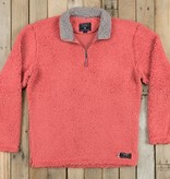 Appalachian Pile Pullover, Burnt Red