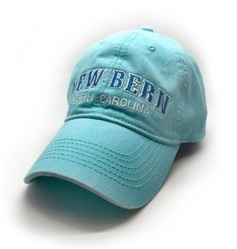 Surf, Wind and Fire New Bern Embroidered Hat, Mint/Turquoise