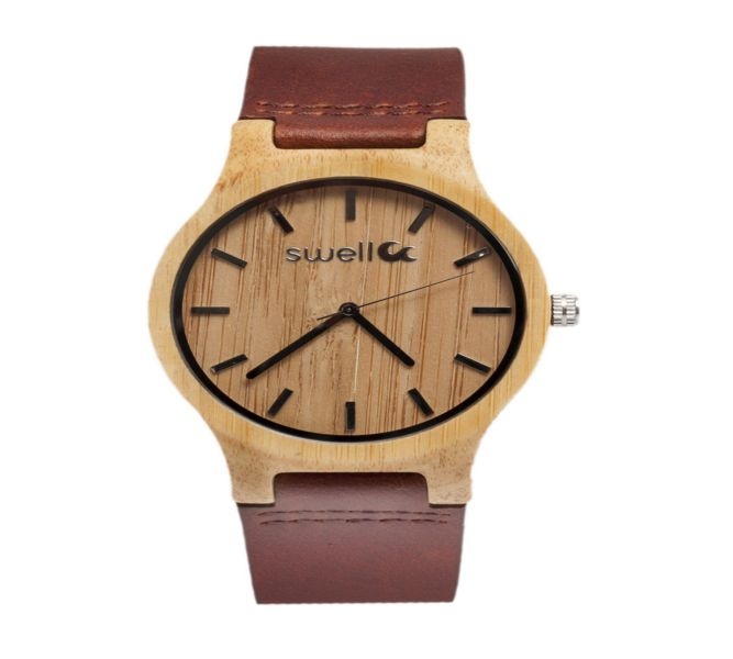 Swell Vision The Cowboy Bamboo Watch