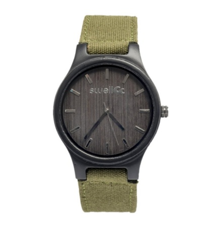 Swell Vision The Backpacker Bamboo Watch, Hiker