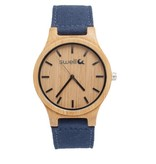 Swell Vision The Backpacker Bamboo Watch, Ocean