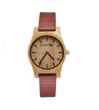 Swell Vision The Cowgirl Bamboo Watch