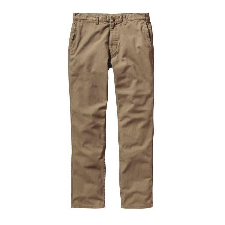 Patagonia Men's Straight Fit Duck Pants, Ash Tan
