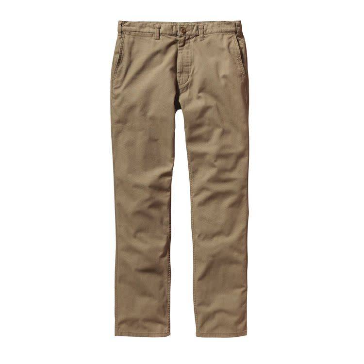 Patagonia M's Straight Fit Duck Pants, Ash Tan