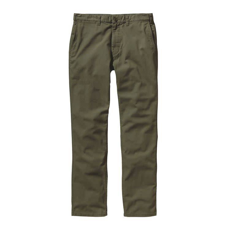Patagonia Men's Straight Fit Duck Pants, Industrial Green