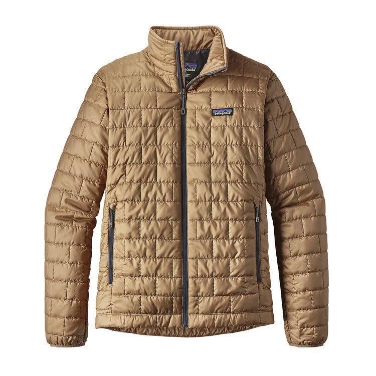 Patagonia Men's Nano Puff Jacket, Mojave Khaki