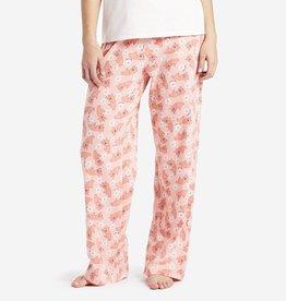 Life is Good W Sleeping Rocket Jersey Sleep Pants-Chalky Sleep