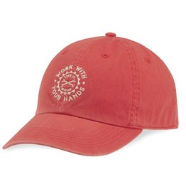 Life is Good Work With Hands Chill Cap, Americana Red