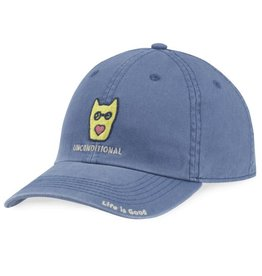Life is Good Kids Rocket Heart Chill Cap, Vintage Blue