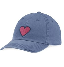 Life is Good Kids Heart Chill Cap, Vintage Blue