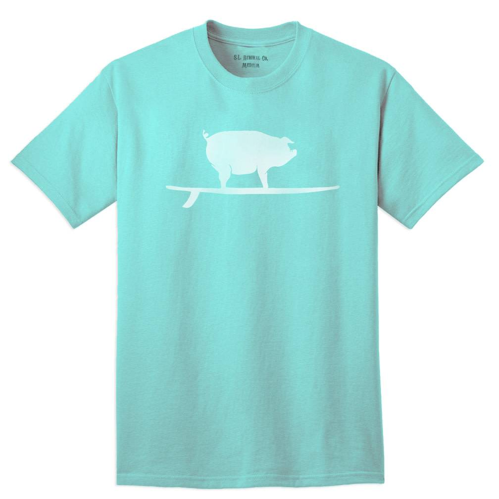 Surf, Wind and Fire Surfing Pig S/S Tee Front Graphic