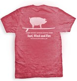 Surf, Wind and Fire Surfing Pig S/S Tee