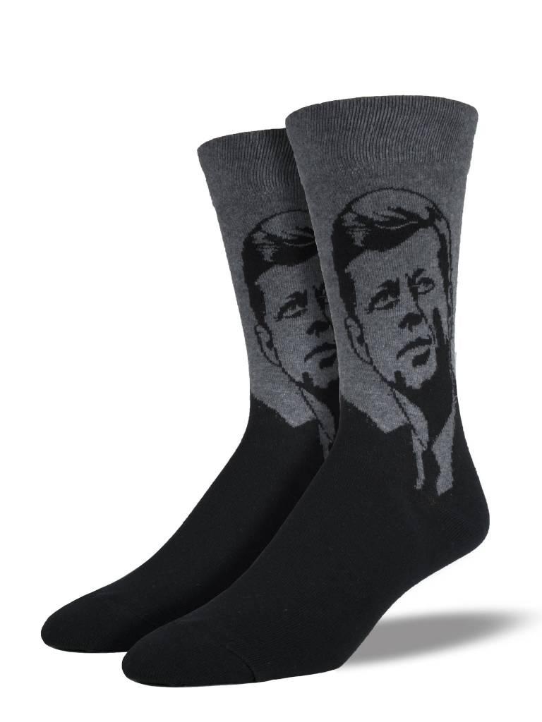 Socksmith M's JFK Socks, Grey