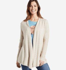 Life is Good W Wander Free Sweater, Heather Mocha