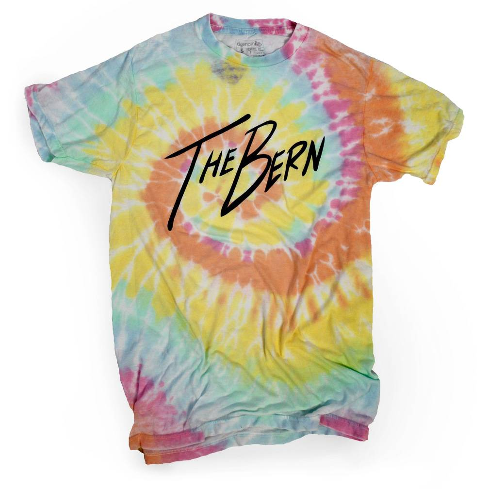 Surf, Wind and Fire The Bern Tee, Aerial Tie-Dye