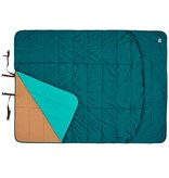 Kelty Shindig Blanket, Deep Teal/Canyon Brown/Latigo Bay