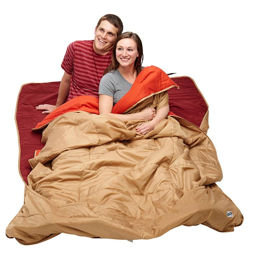 Kelty Shindig Blanket, Canyon Brown, Garnett Red, Lava