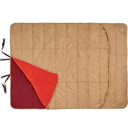 Kelty Shindig Blanket, Canyon Brown, Garnett Red, Lava