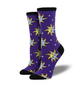 Socksmith Women's Celestial, Purple