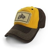 S.L. Revival Co. Honey Bee Ballcap, Yellow and Brown