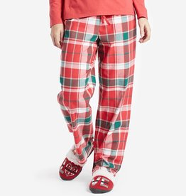 Life is Good W Classic Sleep Red Plaid, Americana Red
