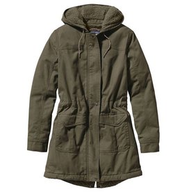 Patagonia Women's Insulated Prairie Dawn Parka, Industrial Green