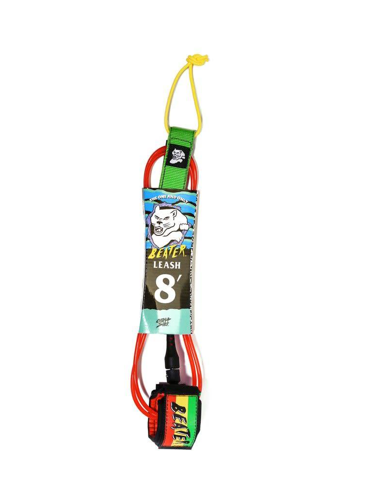 Catch Surf Beater 6 ft Leash, Rasta