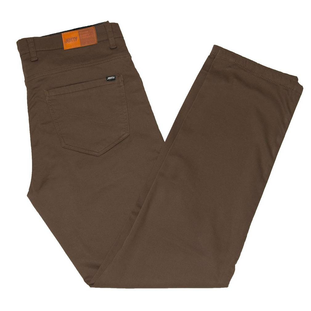 Jetty Men's Bedrock Pant, Brown