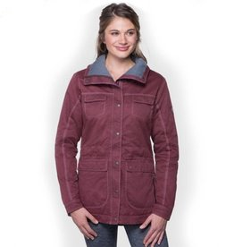 Kuhl Women's Lena Lined Jacket, Raisin