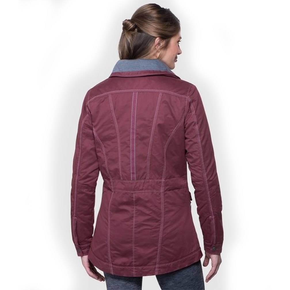 Kuhl Women's Lena Lined Jacket, Raisin