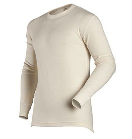 Coldpruf M's Authentic Wool Plus Top, Oatmeal
