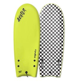 Catch Surf Beater Original 54 Twin Fin, Electric Lemon