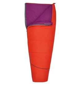 Kelty Rambler Sleeping Bag 50 Degree Reg RH, Fire Orange