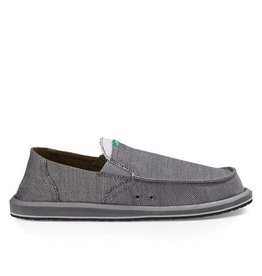Sanuk M Pick Pocket Denim, Charcoal