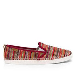 Sanuk W Brook TX, Rumba Red Boho