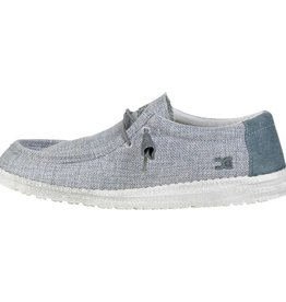 Hey Dude Wally Woven, Grey WH