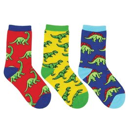 Socksmith Dino-Mite Kids Socks 3-Pack