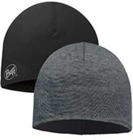 BUFF Microfiber Reversible Hat Grey Stripes