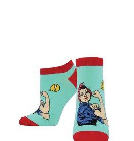 Socksmith W's Rosie Ankle Socks, Wintergreen
