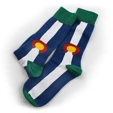 S.L. Revival Co. Colorado State Flag Sock, Large