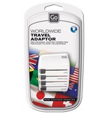 Liberty Mountain World Adapter, Non Grounded