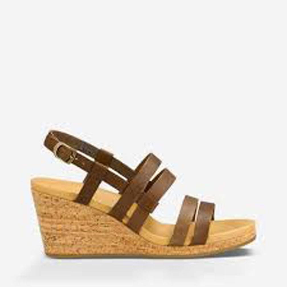 TEVA W Arrabelle Sandal Leather Brown