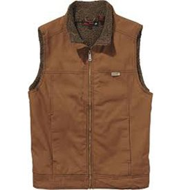 Wolverine M's Porter Sherpa Vest, Chestnut