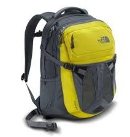 The North Face Recon Premium Backpack, Acid Yellow/Turbulence Grey